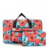 Eco Chic Blue Poppies 2020 Holdall