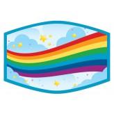Rainbow Bridge - Kids Face Cover F2401