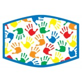 Rainbow H/Prints - Kids Face Cover F2402
