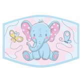 Baby Elephant - Kids Face Cover F2404