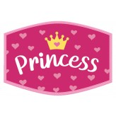 Princess Crown - Kids Face Cover F2407