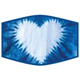 Shibori 2 - Adults Face Cover F2429