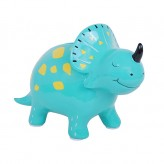 Dino - Aqua - Shaped Money Box