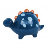 Dino - Blue - Shaped Money Box