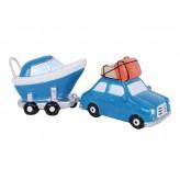 Car and Boat - Shaped Money Box