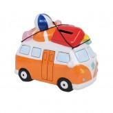 Combi Surfboards-Orange-Shaped Money Box