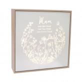 Mum - Kindred Large Square Light Box