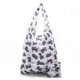 Eco Chic White Scatty Scotty Shopper Bag