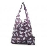 Eco Chic Black Scatty Scotty Shopper Bag