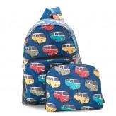 Eco Chic Teal Camper Van Backpack
