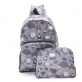 Eco Chic Grey Sheep Backpack