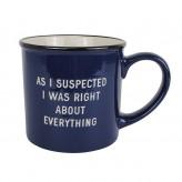 As I Suspected - Mega Mug