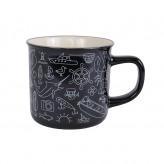 Fish Icons - Retro Mug
