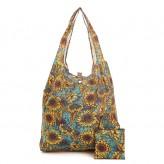 Eco Chic Black Mackintosh Rose Lunch Bag