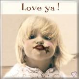 MT095 Choc Kiss Love Ya - BSOL Magnet