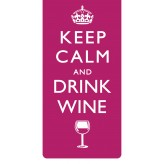 BM141  Keep Calm Wine - BSOL Magnetic