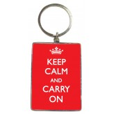 KR100 Keep Calm - BSOL Key Ring