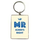 KR107 Mr Always Right - BSOL Key Ring