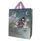 216RW Lge Gift Bag The Runaway- Gorjuss