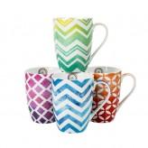 Geometric Mugs - Asst