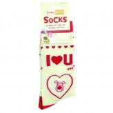 I Heart U - Boofle Socks