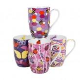 Flutterby Mugs - Asst