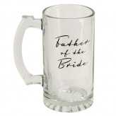Father of Bride Glass Tankard-AmoreWG325