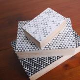 Geometric Print Set/3 Boxes