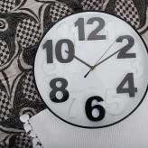 White & Black Wall Clock