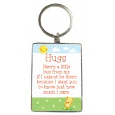 KR082 Hugs - BSOL Key Ring
