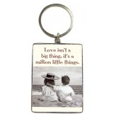 KR114 Love Isn't a Big - BSOL Key Ring