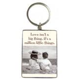 KR114 Love Isn't a Big - BSOL Key Ring