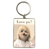 KR112 Love Ya Choc Kiss - BSOL Key Ring