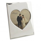 Silverplated Heart 4.5x4 Amore WG512