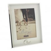 Silverplated Frame 5 x 7 Amore WG533