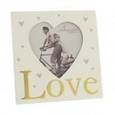 Love Heart Frame 4 x 4 Amore WG580