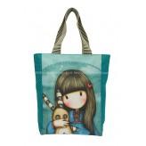 387GJ03 Shopper Bag Hush Bunny - Gorjuss