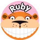 T'Brush Holder - Ruby