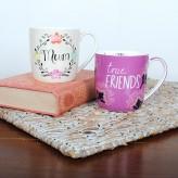 True Friends Words Of Life - Barrel Mug