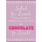 HD1509 - Chocolate for Lunch - Tea Towel
