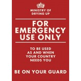 HD1520 - Emergency Use Only - Tea Towel