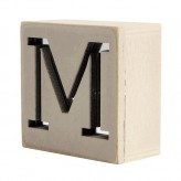 MM1013 - M  Mirror Mirror Block