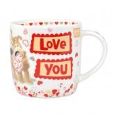 Love You - Boofle Mug