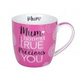 Mum Is Honest - Barrel Mug