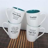 Workaholic Mugs Concept