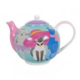 Kool Kats Teapot