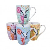 Hummingbird Mugs - Asst