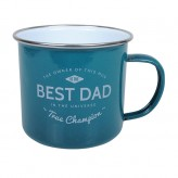Best Dad - Enamel Mug