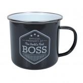 Boss - Enamel Mug