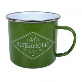 Bikeaholic - Enamel Mug